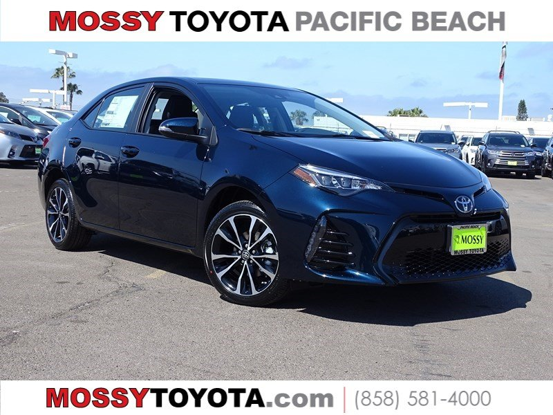 New 2019 Toyota Corolla Xse 4dr Sdn In San Diego 716588 Mossy Toyota