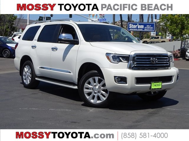 New 2019 Toyota Sequoia Platinum 4dr Sptuty In San Diego 723936