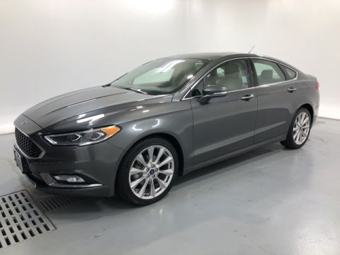 Pre-Owned 2017 Ford Fusion Platinum Pre-Owned
