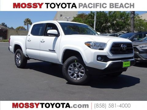 New 2019 TOYOTA Tacoma SR5 Double Cab 5' Bed V6 AT