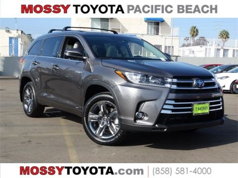 New 2019 TOYOTA HIGHLANDER HYBR Hybrid Limited Platinum