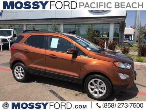 Pre-Owned 2018 Ford EcoSport SE Pre-Owned